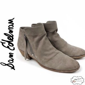 Sam Edelman | Packer Suede Leather Ankle Booties